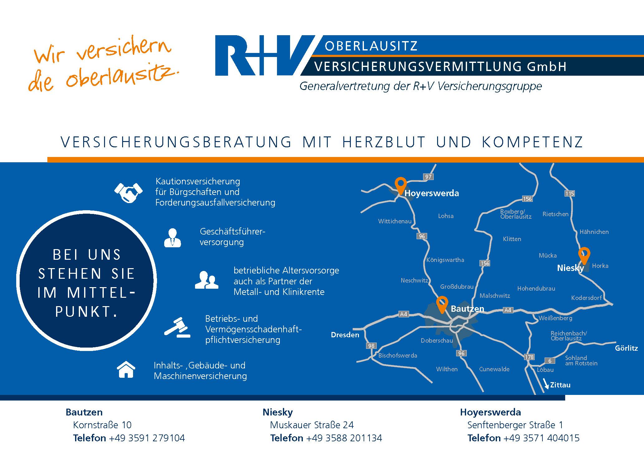 R+V Generalvertretung Oberlausitz GmbH
