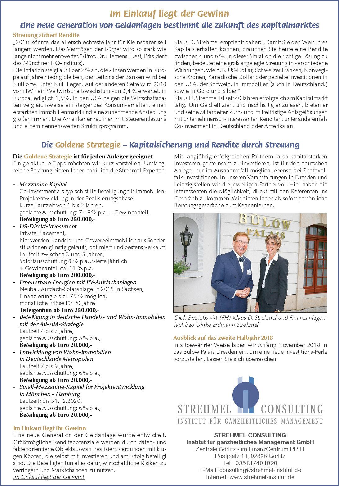 Strehmel Consulting